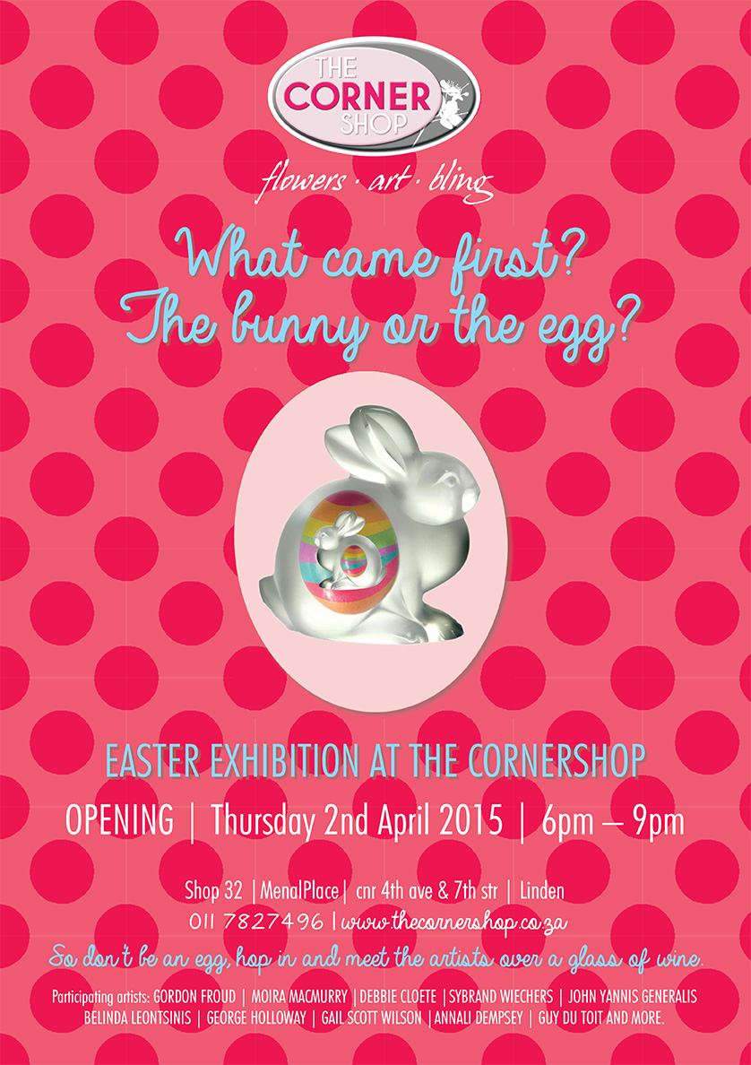 Art exhibition Easter 2015 at the Corner Shop Linden