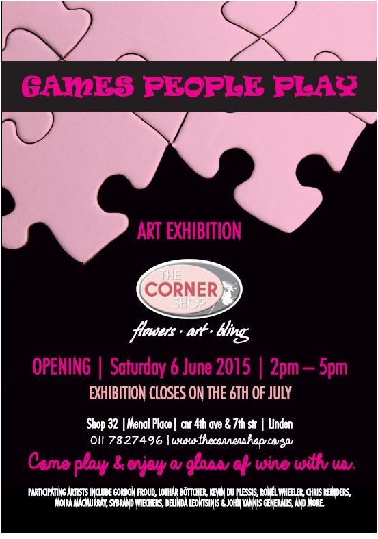 Games People Play - Art exhibition, The Corner Shop, Linden