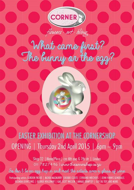 Art exhibition Easter 2015 at the Corner Shop Linden
